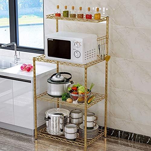 Organizador de estante de cocina, estante de olla Estante de ...