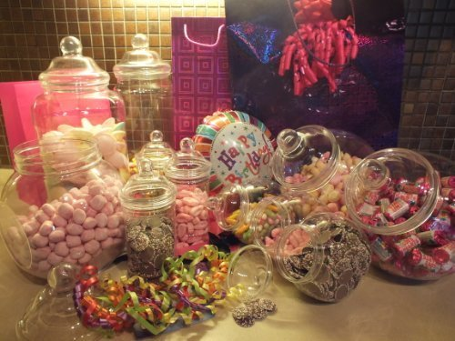 (Plastic Jar Party Pack-11 Assorted Jars by)