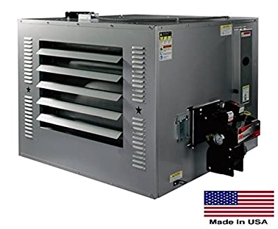 Waste Oil Heater Commercial - 300,000 Btu - Incl Tr Chimney Kit & 215 Gal Tank