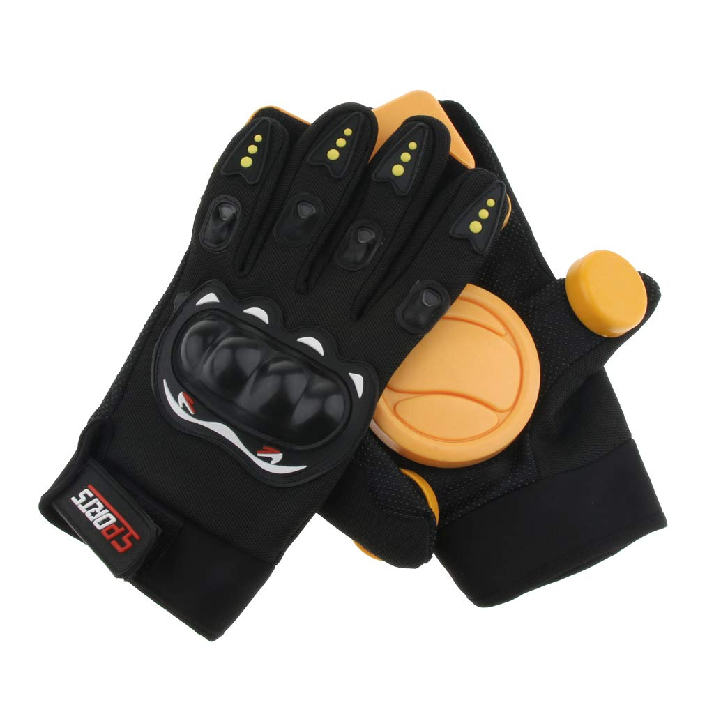 Black Professional Slide Skateboard Glove Skating Longboard Glove Foam Palm