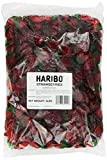 Haribo Gummi Candy, Strawberries, 5-Pound Bag