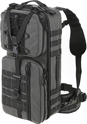 Maxpedition Pecos Gearslinger Backpack, Large, Wolf Gray