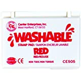 Stamp Pad Washable Red by Center Enterprises
