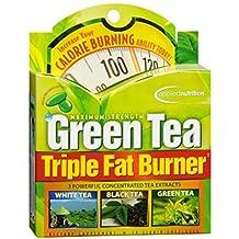 Applied Nutrition Green Tea Maximum Strength Triple Fat Burner Dietary Supplement Liquid Soft Gels , 30 CT (Pack of 4)