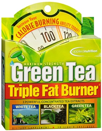 Applied Nutrition Green Tea Triple Fat Burner Liquid Soft-Ge