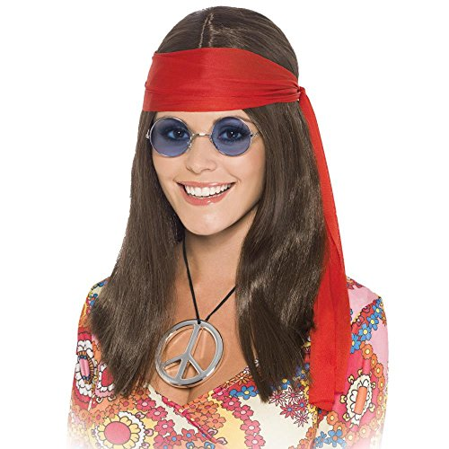 Hippy Kit (PST Women's Hippy Chick Kit One Size Fits All Brown)