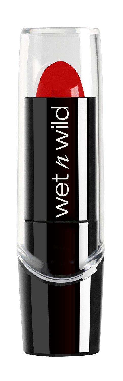 wet n wild Silk Finish Lip Stick, Hot Red, 0.13 Ounce