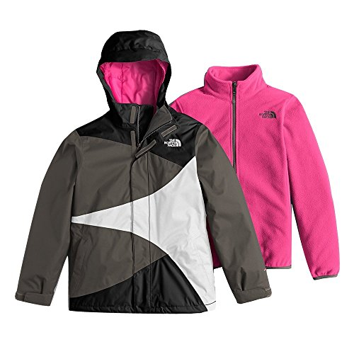The North Face Mountain View Triclimate Girls Ski Jacket - Medium/TNF Black (Mountain Light Jacket Face North)
