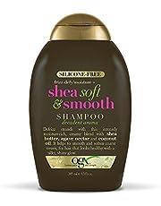OGX Frizz-Defy/Moisture + Shea Soft & Smooth Shampoo, 13 Ounce