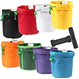 Casolly 1 Gallon 8 Bags Herbal Ice Bubble Hash Bag Essence Extractor Kit-Free Carrying Bag & Pressing Screen Included+4 Inch Pollen Press