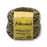 CANADIAN Hemp Wick 100 Feet 100% Natural With Beeswax