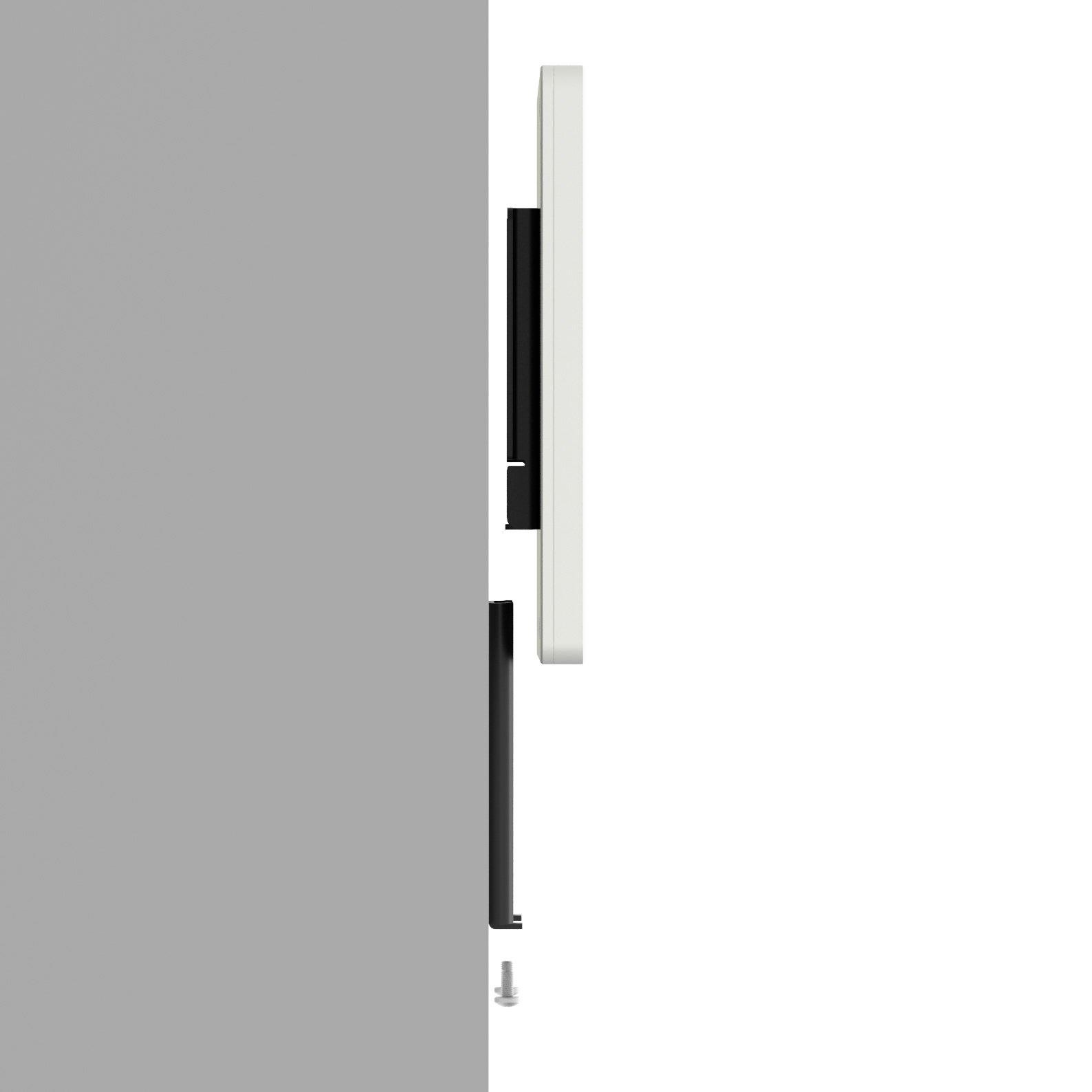iPad (5th Gen) 9.7/Pro, Air 1/2 White Home Button Covered Fixed Slim VESA Wall Mount [Bundle] by VidaBox Kiosks (Image #4)