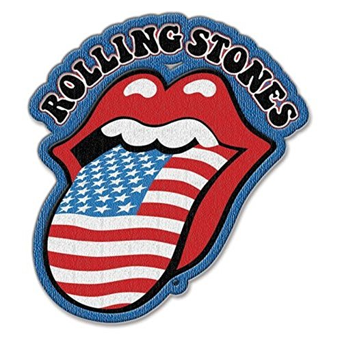 The Rolling Stones Classic Embroidered Iron on Patch