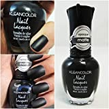 1-Bottle Pleasantness Popular New Nail Polish Lacquers Base Top Coat Non-Toxic Gel Effect Colors Type Madly Black