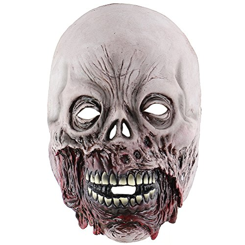 Lannmart Halloween Creepy Infected Horrible Realistic Corpse Head Mask Zombie Mask Party Supplies Costume Party Props