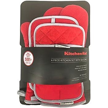 Amazon Com Kitchenaid 4 Piece Kitchen Set W Silicone 2