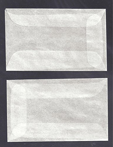 100 #1 Glassine Envelopes measuring 1 3/4 x 2 7/8 inches Model: , Toys & Games for Kids & Child