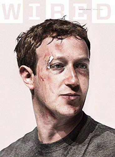 Wired Magazine (March, 2018) Mark Zuckerberg Cover