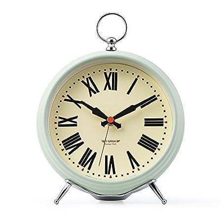 WXIN Clock Salón Dormitorio Villa Reina El Silencio Decoración ...