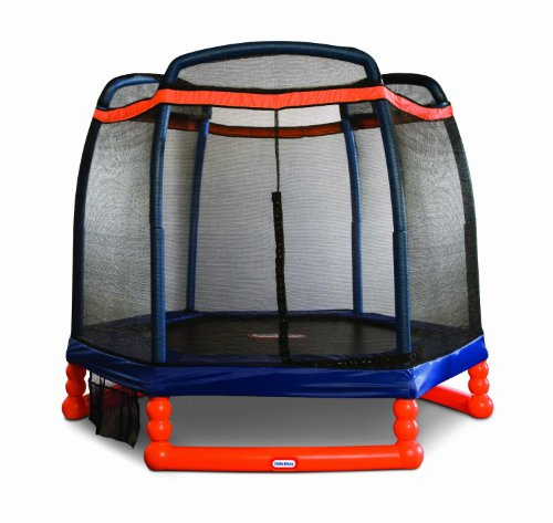 Little Tikes 7' Trampoline (Little People Jump And Play Swing Set)