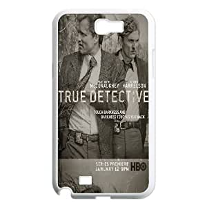 True Detective Samsung Galaxy N2 7100 Cell Phone Case White DIY GIFT pp001_8038420