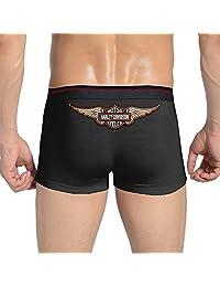 POPYol Men's Harley Davidson Logo Boxer Briefs