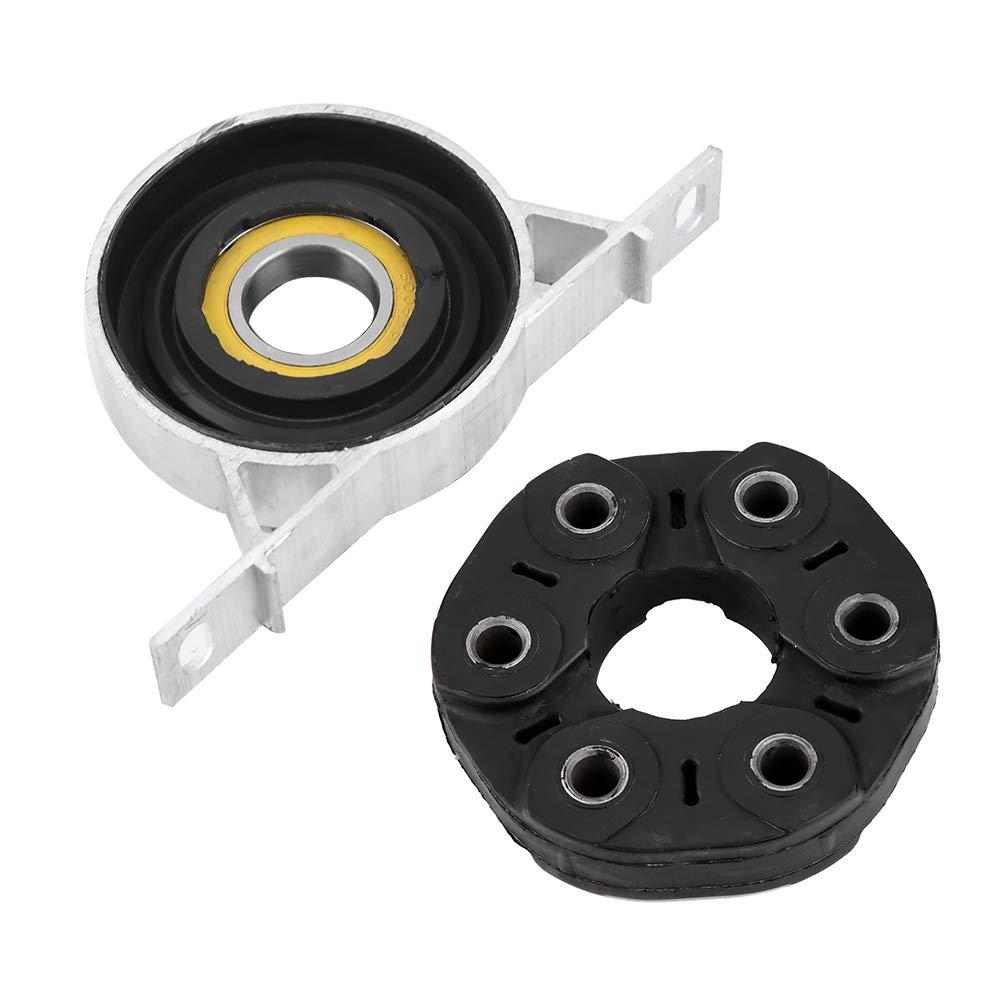 KIMISS 6 holes Drive Shaft Flex Disc Joint,Drive Shaft Flex Support Kit for 323i 328i 323Ci 320i 330i 325i Z4(Rubber + Aluminum Alloy)