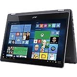 "Acer Aspire R Flagship 15.6"" 2-in-1 FHD IPS Touchscreen Laptop (2017 Model), Intel Core i7-7500U, 12GB DDR4 RAM, 1TB HDD, NVIDIA GeForce 940MX, HDMI, Bluetooth, 802.11ac, Backlit Keyboard, Win10"