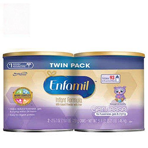 Enfamil® Gentlease® Infant Formula (4)25.7oz Cans 102.8 Total Oz