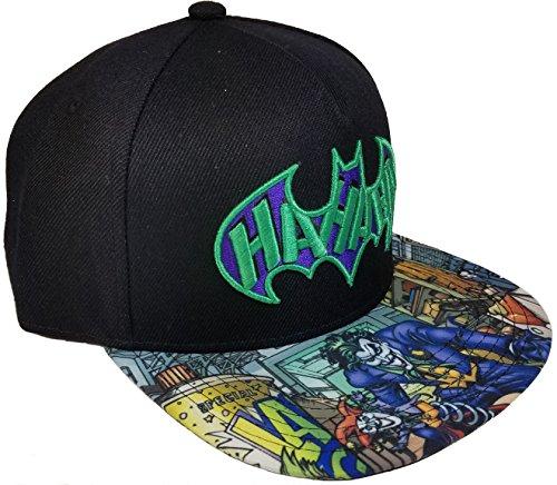 (Fashion Hat Joker Baseball Hat, Black, One)