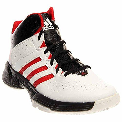 Adidas Herren Cross 'Em 3 Basketballschuhe Leichter Granit / Scharlachrot / Schwarz