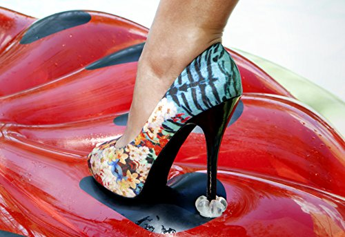 1b4a6ada486 HEEL PROTECTORS for High Heeled Shoes - Stops Your Heels Sinking in Grass - Crystal  Clear