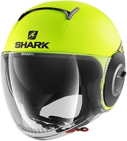 Shark Casque moto NANO STREET NEON MAT AKK Anthracite S