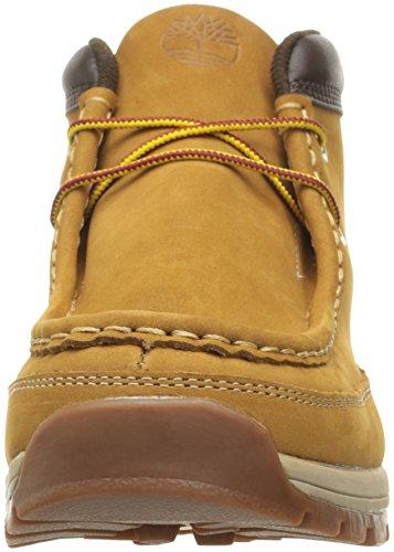 Timberland Mens Stratmore Moc Toe Boot Wheat Nubuck