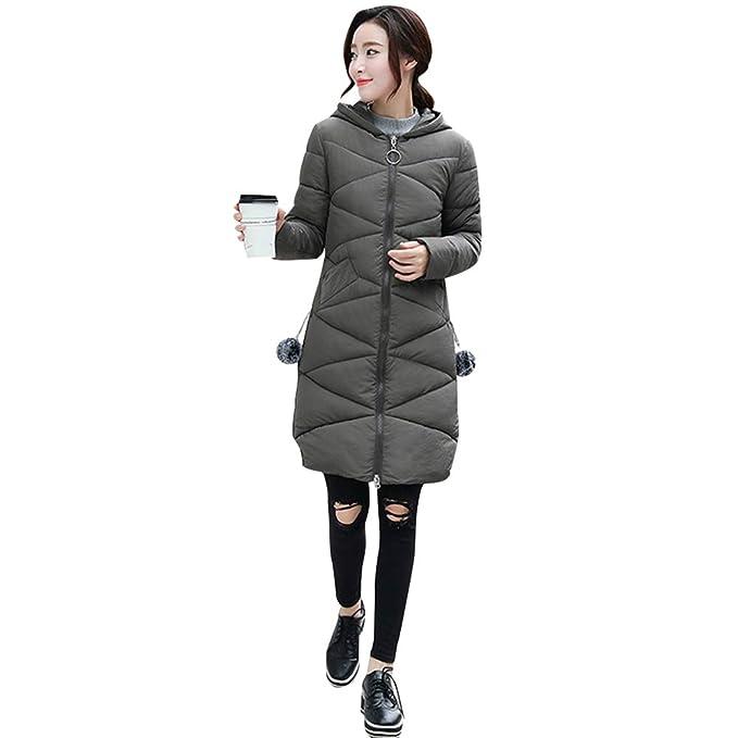 nuevo producto a89c3 7212d ZEVONDA Abrigos Acolchados para Mujer - Moda Abrigos Largos ...