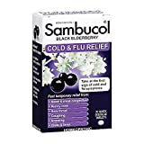 Sambucol Black Elderberry Cold & Flu Relief Tablets 30 Count,...