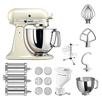 Amazon.de: KitchenAid Küchenmaschine Artisan, 5KSM125PS, Pasta Paket ...