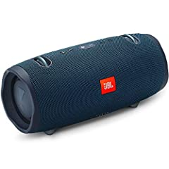 Unleash powerful sound everywhere.       JBL Xtreme 2 is the ultimate portable Bluetooth speaker that effortlessly delivers dynamic and immersive stereo sound. The speaker is armed with four drivers, two JBL Bass Radiators, a rechargea...