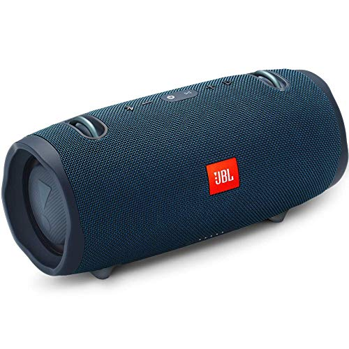 JBL Xtreme 2 Portable Waterproof Wireless Bluetooth Speaker – Blue (Renewed)