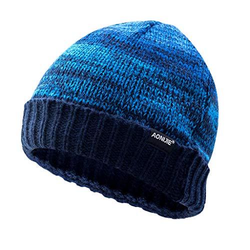 Azul Esquí Unisex Libre Hombre Invierno Contra Sombrero Deporte Punto Novios Multi Aire Simple Color gorras Viento de de Arcweg Caliente 7HOqx