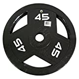 Marcy Classic ECO Olympic Grip Plate - 45 lbs.