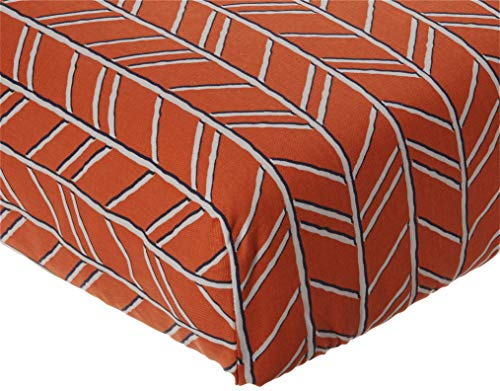 Glenna Jean Apollo Crib Fitted Sheet Arrow, Orange