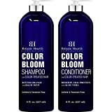 BOTANIC HEARTH Shampoo and Conditioner for Color Treated Hair - with Special Blend of Conditioning, Smoothing and Color Enhancing Ingredients - Paraben and Sulfate Free Set - 8 fl oz x 2