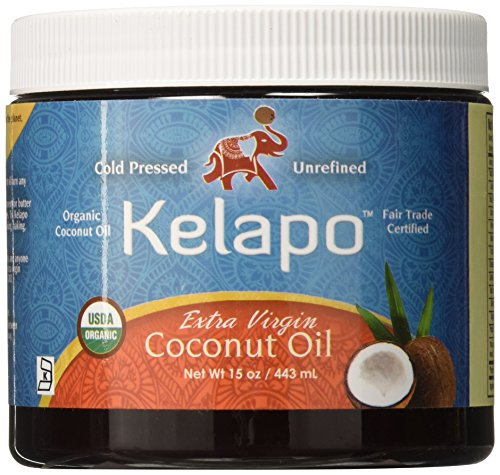 Kelapo Extra Virgin Coconut Oil, 15-Ounce Jar