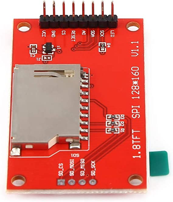 1.8 inch TFT ST7735S LCD Display Module128x160 For Arduino 51//AVR//STM32//ARM  H4