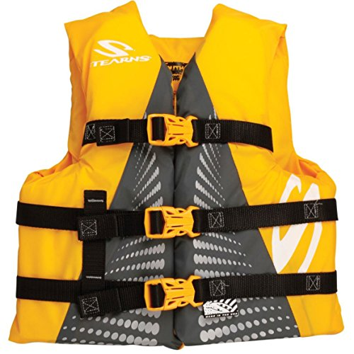 Gold Coast Guard (Stearns Youth Watersport Vest - Gold United States Coast Guard Approved Youth (50 - 90)