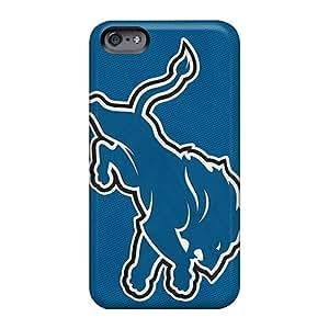 Apple Iphone 6s Plus QoI2054LZtj Unique Design Stylish Detroit Lions Image Shock-Absorbing Cell-phone Hard Cover -EricHowe