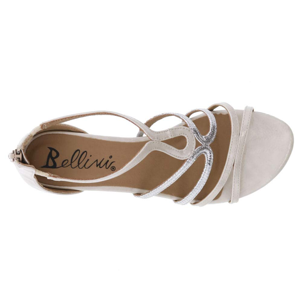 Bellini Gwen White Wide 9.5