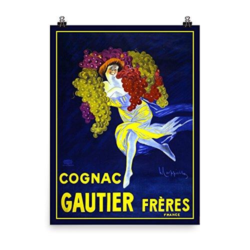 Matte Cognac - Vintage poster - Cognac Gautier Freres 0427 - Enhanced Matte Paper Poster (18x24)