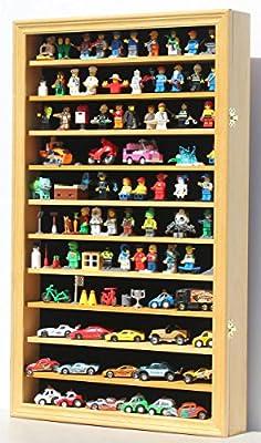 Lego Minifigures / Star War / Disney Figures Display Case Wall Curio Cabinet, HW11-OA